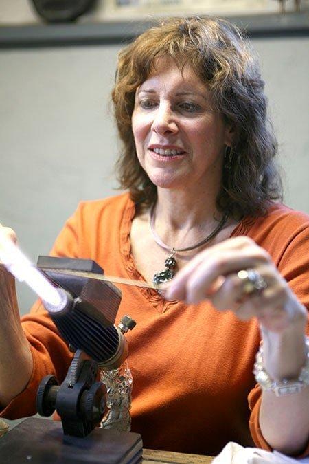 "Patricia Tyser Carberry – ""Handmade Glass Beads and Felt"""
