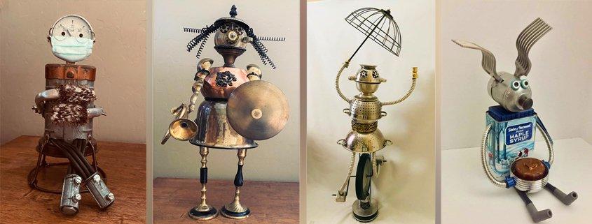 Debbie Thomas – Found object sculpture