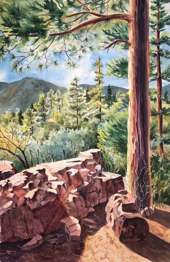 Chris Sommerfelt – Watercolor Painter